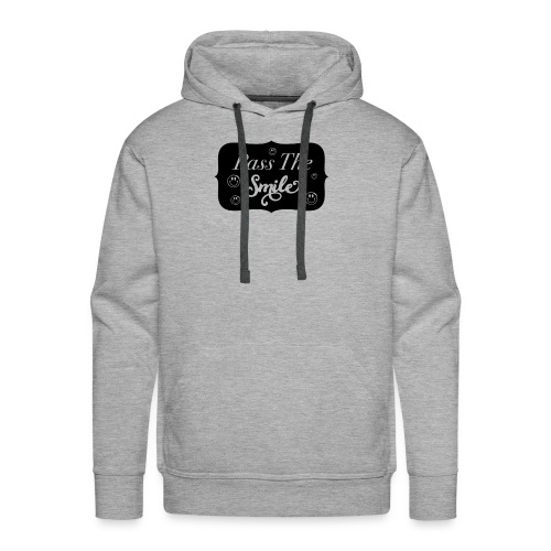 Pass The Smile - Men's Premium Hoodie