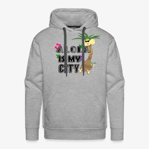 Alola Is My City Print - Men's Premium Hoodie