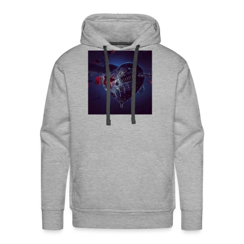 STEAM HEART - Men's Premium Hoodie