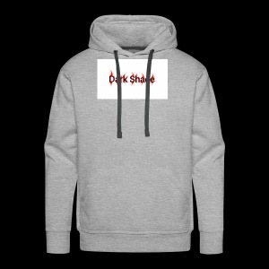 Dark Shade White - Men's Premium Hoodie