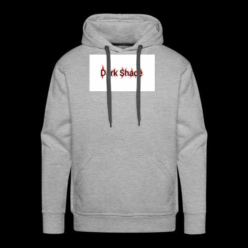 Dark Shade White - Men's Premium Hoodie