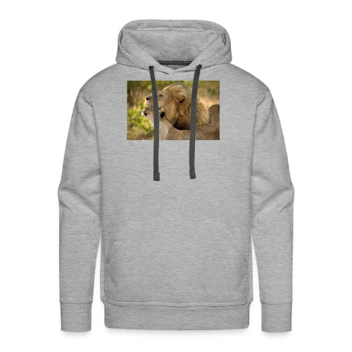 lions in love - Men's Premium Hoodie