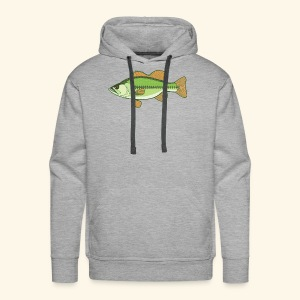 Fishking logo design - Men's Premium Hoodie