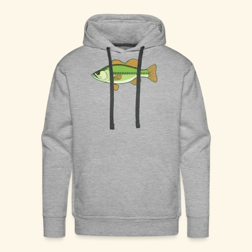 Fishking logo design - Men's Premium Hoodie