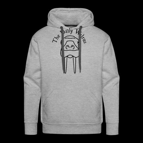 Walrus logo black - Men's Premium Hoodie