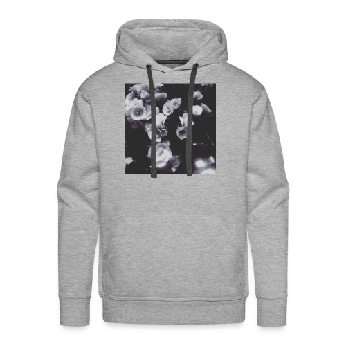the roses have not been painted red...yet - Men's Premium Hoodie