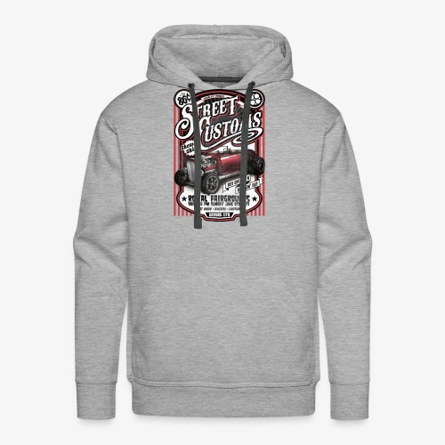 Street Customs- Royal Fairground Vintage Car shirt - Men's Premium Hoodie