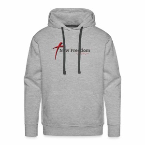 New Freedom Church OFFICIAL LOGO - Men's Premium Hoodie