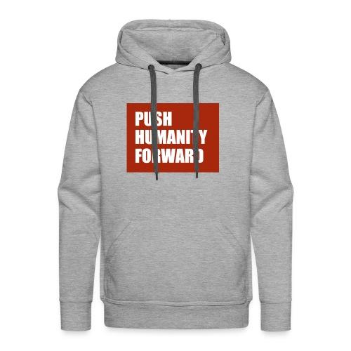 Push Humanity Forward Logo - Men's Premium Hoodie