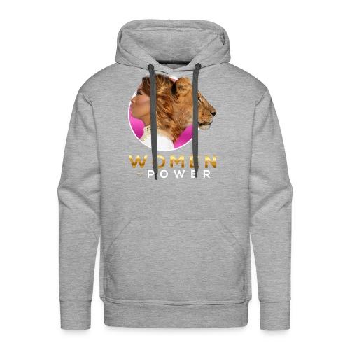 WOP LionessTshirt - Men's Premium Hoodie