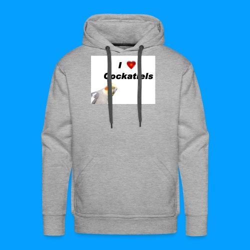 Cockatiels - Men's Premium Hoodie