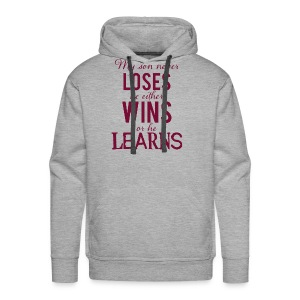 My Son Never Loses - Men's Premium Hoodie