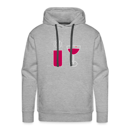 Wine Time - Men's Premium Hoodie