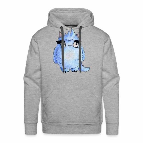 Little Blue Monster - Men's Premium Hoodie