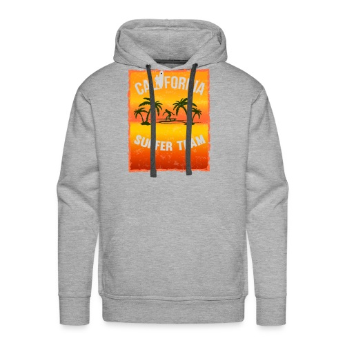 california surfer - Men's Premium Hoodie