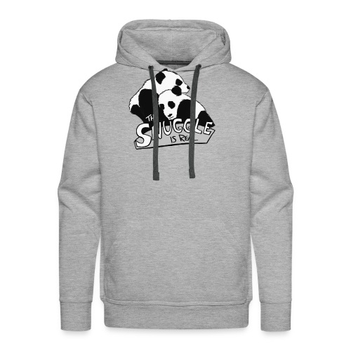The Snuggle Is Real - Men's Premium Hoodie
