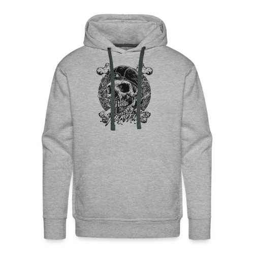 Smoke Skull - Men's Premium Hoodie