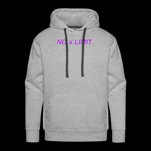 No x Limit - Men's Premium Hoodie