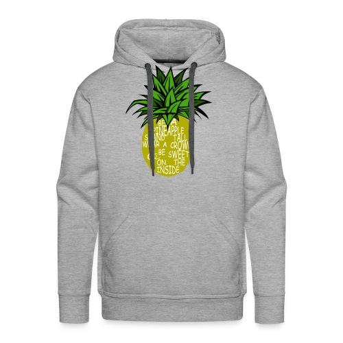 PineappleVer2 - Men's Premium Hoodie