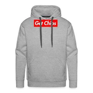 Get Chips Grey - Men's Premium Hoodie