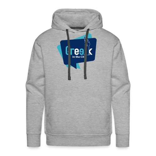 Greek in the City - Men's Premium Hoodie