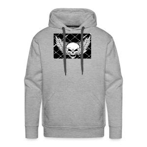 angel skull - Men's Premium Hoodie