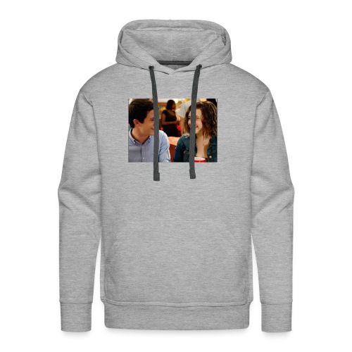 Clay Jensen and Hannah Baker - Men's Premium Hoodie