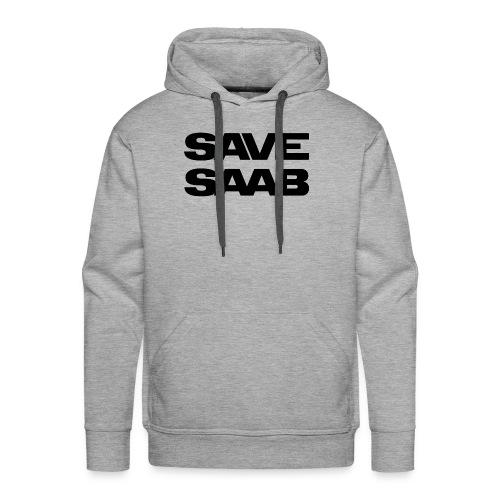 Saab logo products - Men's Premium Hoodie