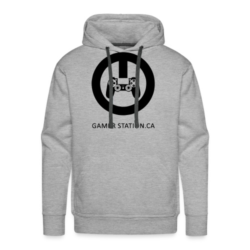 GamerStation.ca logo - Men's Premium Hoodie