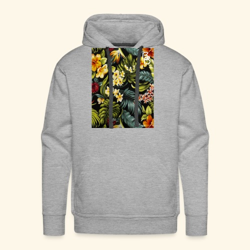 Flower BB - Men's Premium Hoodie