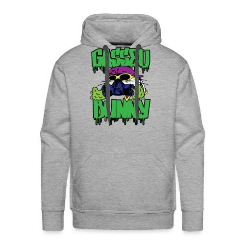 GASSED BUNNY ARTWORK - Men's Premium Hoodie