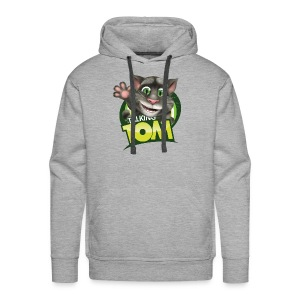 Talking_TOM_wave_preview_lowRes - Men's Premium Hoodie