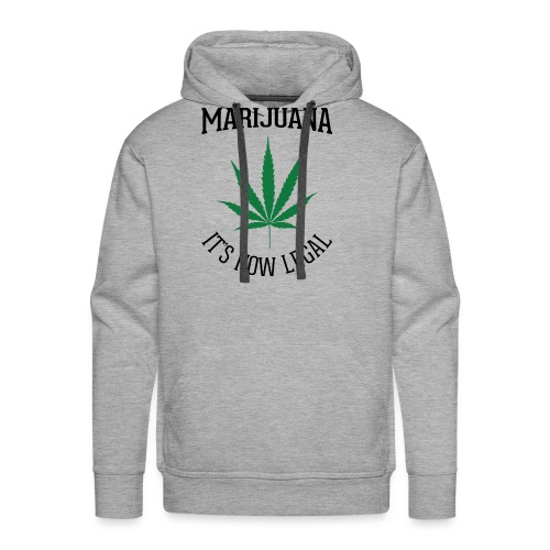 marijuana fan t-shirt - Men's Premium Hoodie