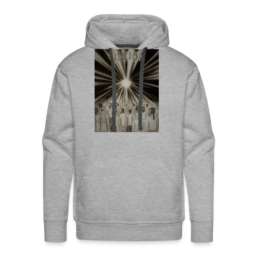 Black_and_White_Vision2 - Men's Premium Hoodie