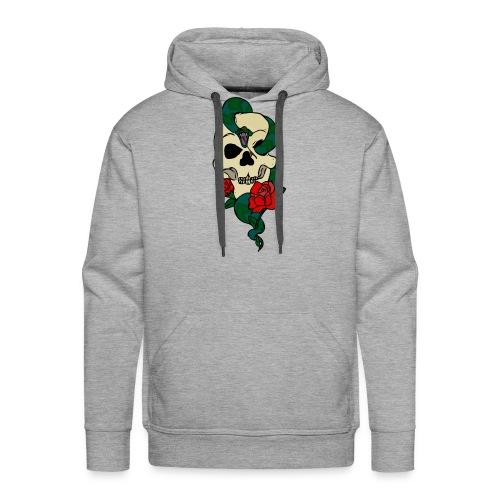 Skull and rose - Men's Premium Hoodie