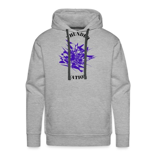 Thunder Nation Purple Star - Men's Premium Hoodie