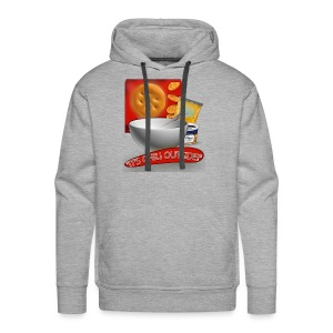 Its Chili Outside merchandise by Haut. - Men's Premium Hoodie