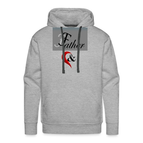father n son 1 - Men's Premium Hoodie