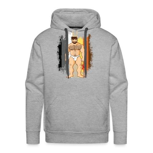 Gay Bear Undies 1 - Men's Premium Hoodie
