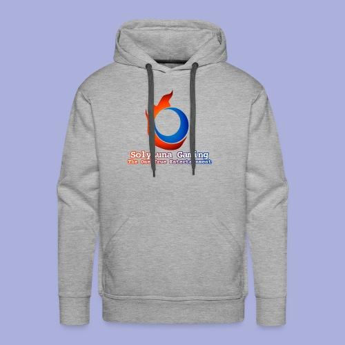 SolyLuna Gaming Logo - Men's Premium Hoodie