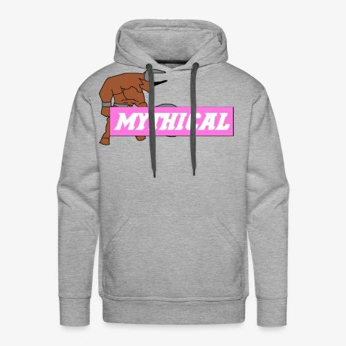 Mythical Logo Design - Men's Premium Hoodie