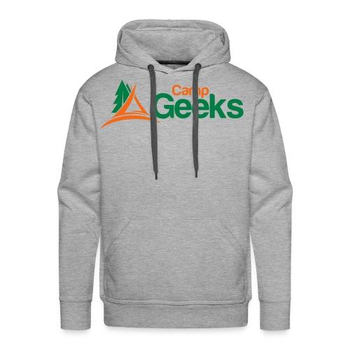 CampGeeks Logo - Men's Premium Hoodie