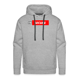 funny Insecure supreme like design - Men's Premium Hoodie