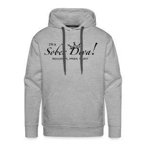 I'm a Sober Diva Gear - Men's Premium Hoodie