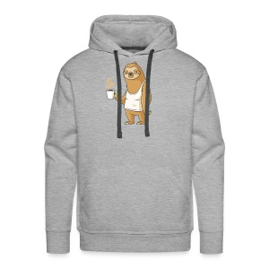Monday Morning Depresso - Men's Premium Hoodie