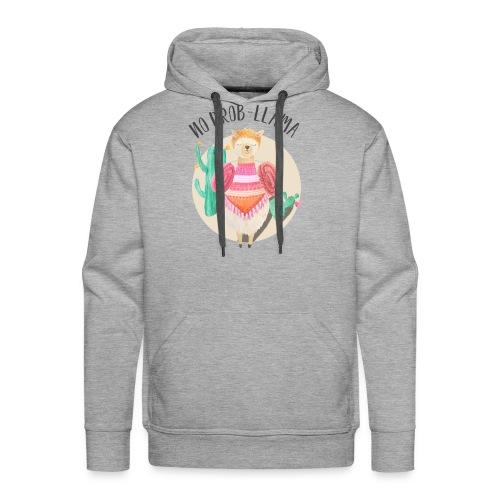 No Prob-Llama - Men's Premium Hoodie