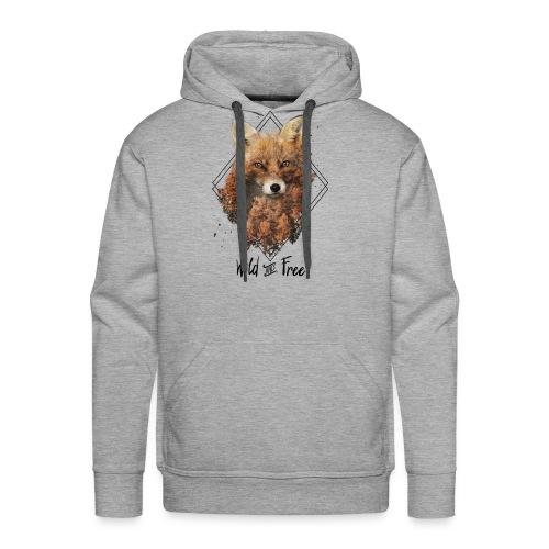 Wild & Free Fox - Men's Premium Hoodie
