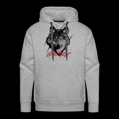 Lone Wolf - Men's Premium Hoodie