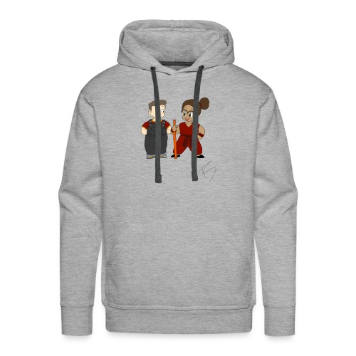 Goku style couple - Men's Premium Hoodie