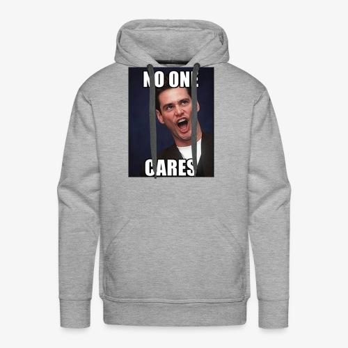 No One Cares - Men's Premium Hoodie